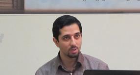 حمید توکلی در کارگاه برندسازی اینترنتی در دانشگاه تهران