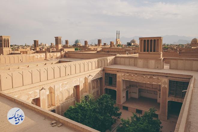 برندسازی شهری برای شهر یزد بادگیر و گلدان کرج